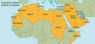 What Countries Speak French In Africa - history of the arabic language at unesco united nations educational scientific and cultural
