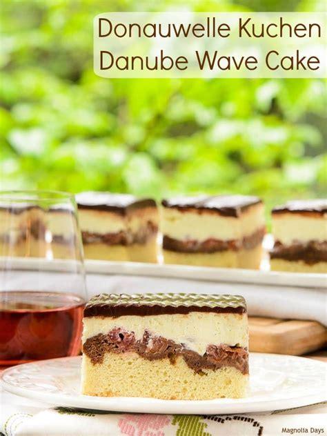 donauwelle kuchen donauwelle kuchen danube wave cake magnolia days