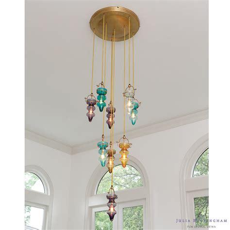 tealight chandelier global views tea light chandelier