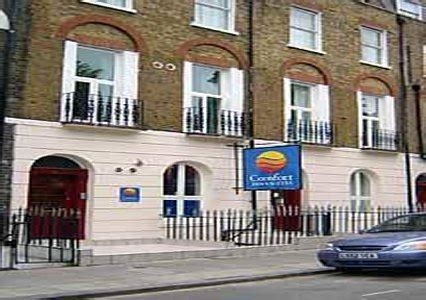 comfort inn london comfort inn and suites kings cross st pancras london