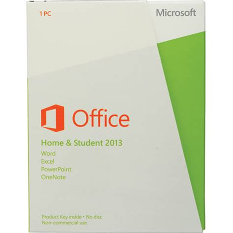 Ms Office Home And Student by Microsoft Office Home And Student 2013 15290 001290nk B H