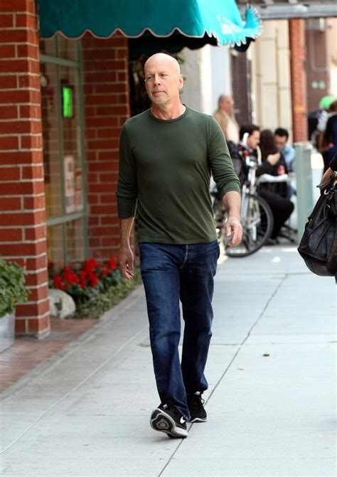 Bruce Willis Seen Out With bruce willis photos photos bruce willis runs errands