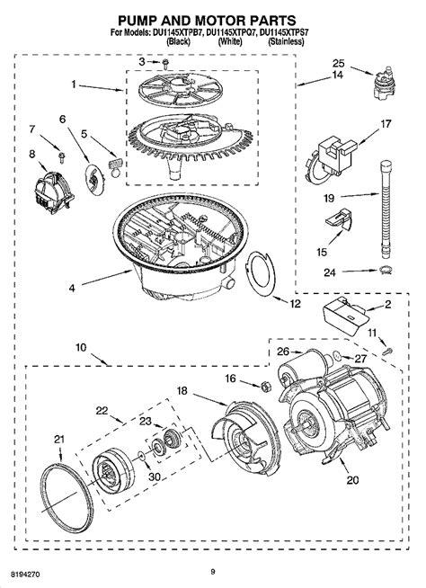 whirlpool partner iii parts diagram we a whirlpool gu2400xtps3 gold partner iii