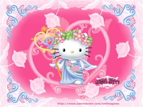 Hello Kitty Artwork by Hello Kitty Wallpapers