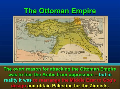 ottomans and zionists gog part 6a