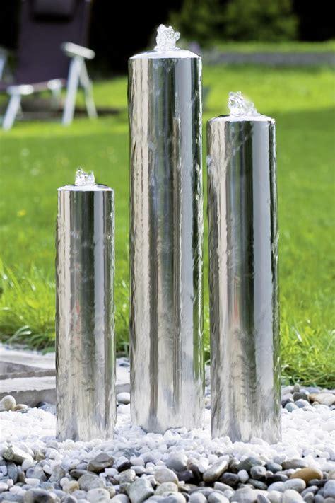 fontaine jardin inox design seliger sp 233 cialiste