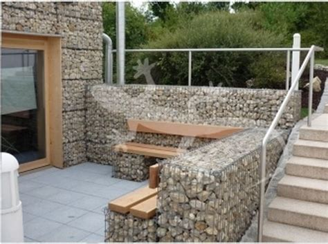 Concrete Garden Benches 13 Best Gabion Ideas Images On Pinterest Backyard Ideas