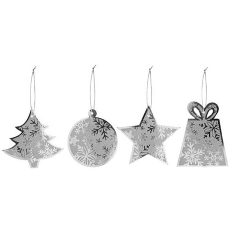 silver gift tags poundland