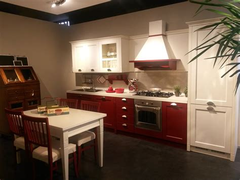 modelli veneta cucine veneta cucine modello gretha rosso e bianco