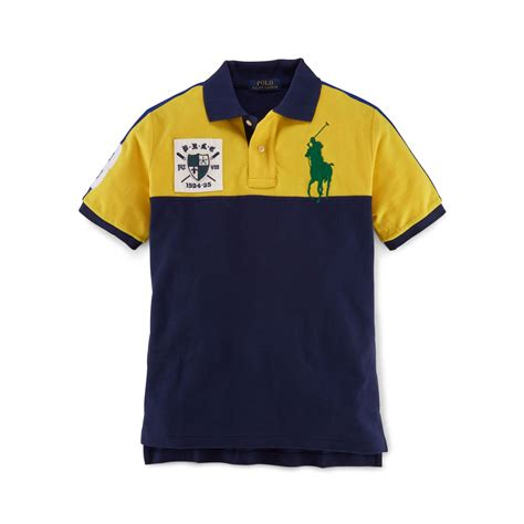 More Ponies For Polo by Big Pony Color Blocked Polo Polo Shirts Boys 8 20