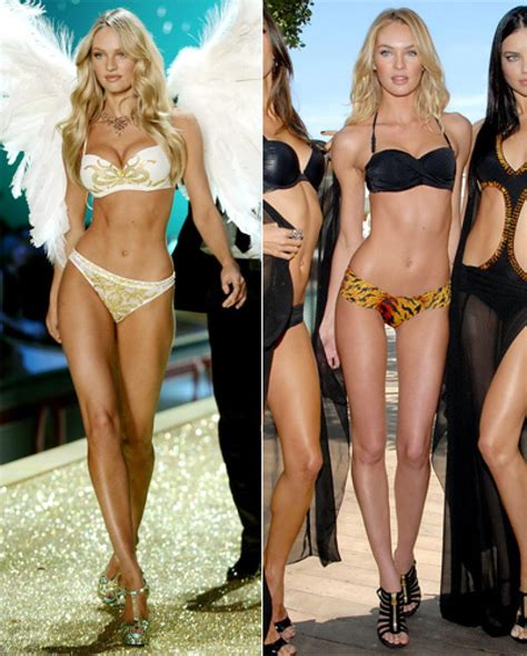 Hollywoods Weight Loss Secret by Candice Swanepoel Photos S Weight Battles