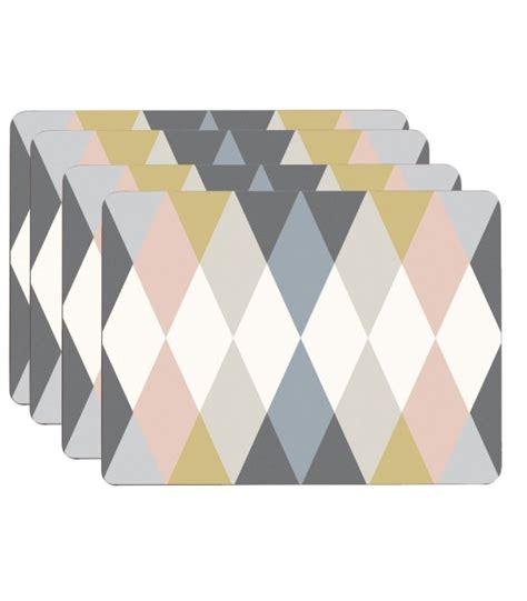 set de table design set de table design bois clair en vinyle set de 6 wadiga
