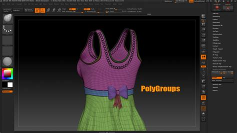 zbrush tutorial import mec4d tutorial preserve polygroups after importing model