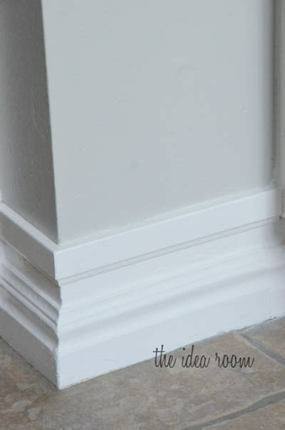 How Tall Should Baseboards Be | how to make baseboards taller