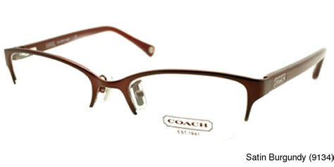 buy coach hc5046 semi rimless half frame prescription eyeglasses