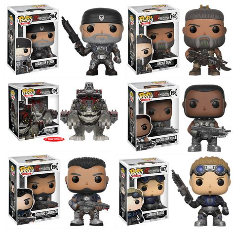 Pop Series gears of war funko pop series 2 complete set 6