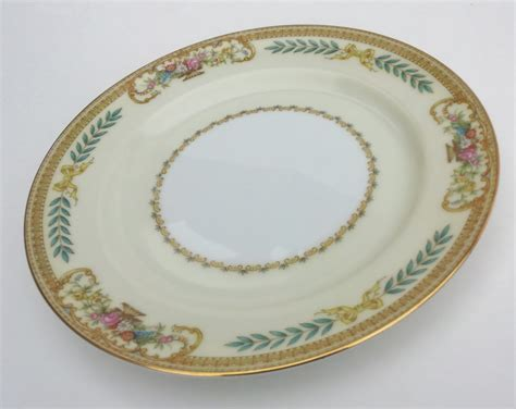 classic china patterns vintage noritake china plate pattern 3812 tiara bread and