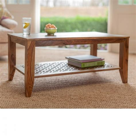furniture 30 wooden center table solid sheesham wood