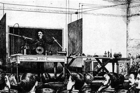 Wireless Electricity Nikola Tesla Nikola Tesla S 1891 Lecture To The American Institute Of