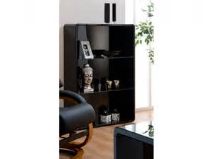 high gloss black bookcase black gloss bookcases and bookshelves shop gloss