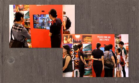 game design hong kong dragonair photo booth 26th international travel expo