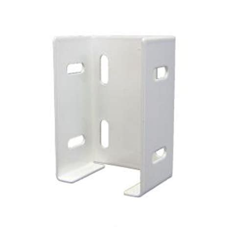 veranda windham metal fence rail bracket 2 pack 131171
