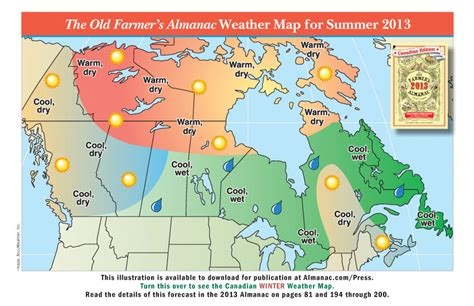 the old farmer s almanac 2013 weather predictions mild promotional weather maps from the old farmer s almanac