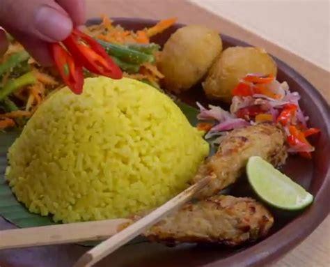 resep buat nasi kuning enak resep nasi kuning bali enak buatan rumah merahputih