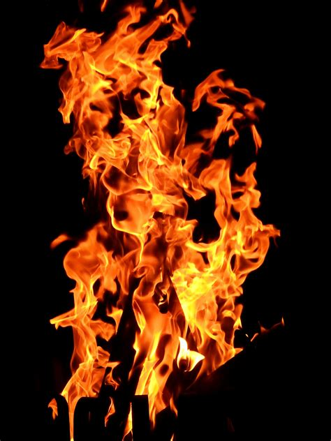 fire wallpaper  stock photo
