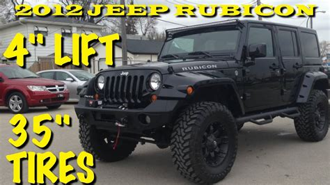 stock jeep vs lifted lifted 2012 jeep wrangler rubicon winnipeg mb custom