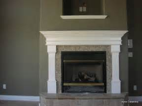 fireplace mantels apex carpentry