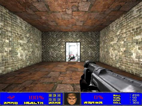 play doom 3 in 3d map of the mod image wolfenstein 3d mod for doom 3 for