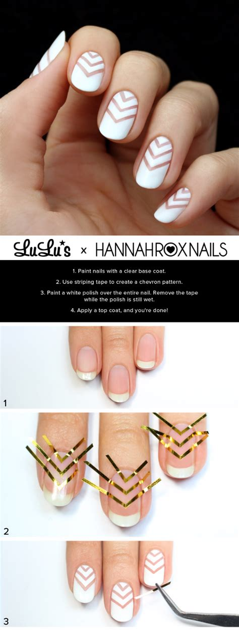 nail art negative space tutorial hair nails archives diy projects for teens