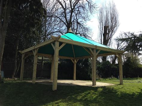 outdoor shelters  canvas roof  hideout house company