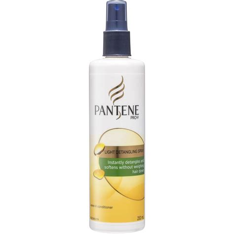Harga Pantene Leave On Treatment pantene pro v leave in conditioner light detangling spray