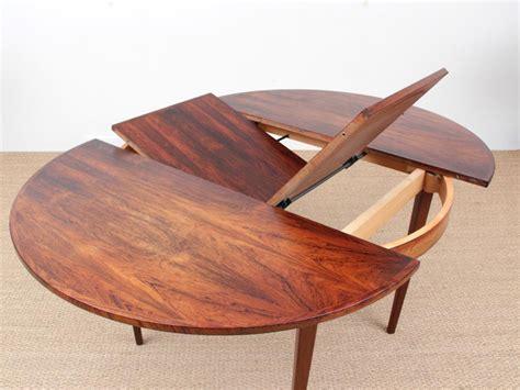 mid century modern scandinavian  dining table  rio