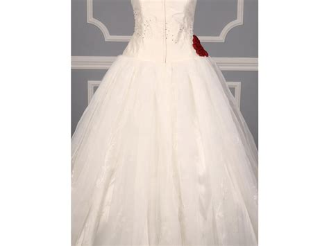 wedding dress rubber st st pucchi fleur 1 650 size 14 new un altered