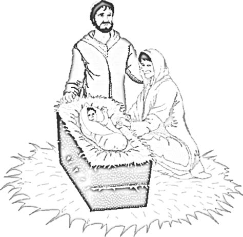 nativity diorama coloring pages nativity diorama coloring page