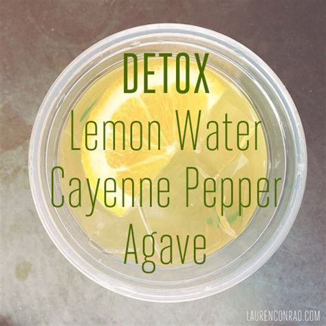 Detox Cleanse Cayenne Pepper Recipe by Best 25 Lemon Cayenne Detox Ideas On Weight