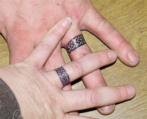 tattoo alternatives wedding ring ideas for alternative and low