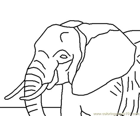 elephant pattern coloring pages free coloring pages of elephant patterns