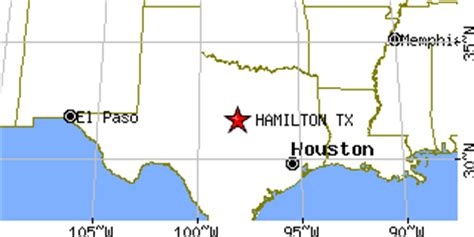 hamilton texas map hamilton texas tx population data races housing economy