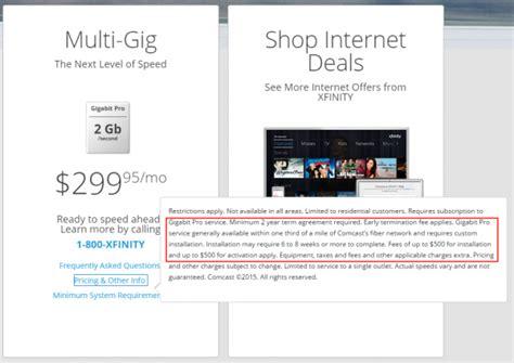 comcast to offer gigabit internet service over docsis modem secret s out comcast s 2 gbps gigabit pro service is here