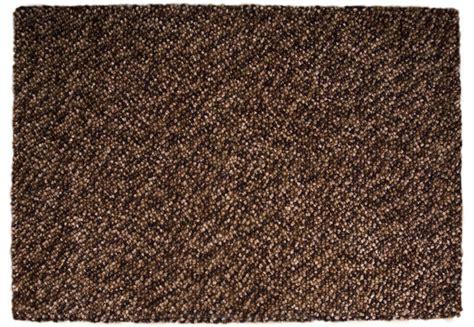 buy felt rug buy pebble felt brown 140x200cm the real rug company