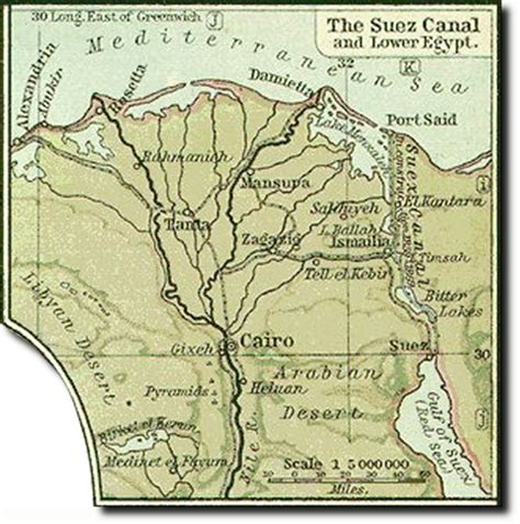 middle east map suez canal middle east maps