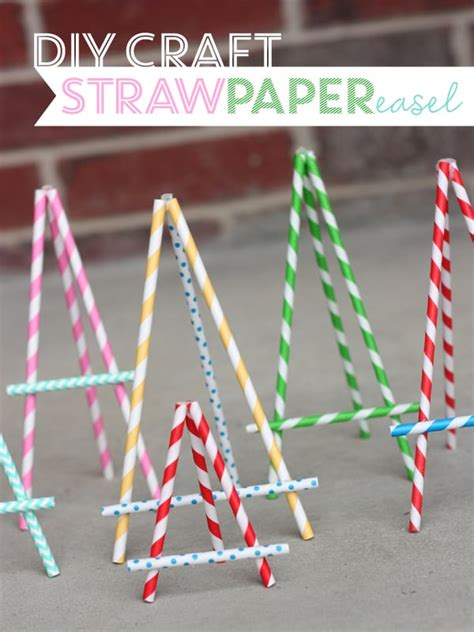 How To Make Paper Straw - diy paper straw crafts