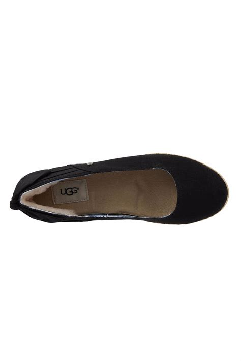 uggs flat shoes ugg australia ugg canvas skimmer flats from los angeles by