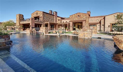 luxury home is multi million dollar estate in scottsdale az