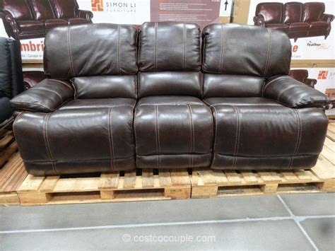 power reclining sofa costco berkline firenze power reclining sofa costco