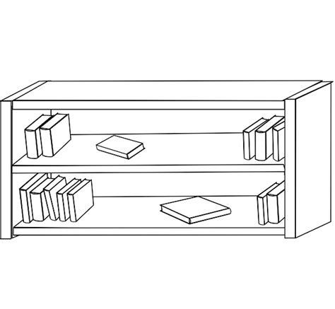 shelves clipart black and white clipartfest